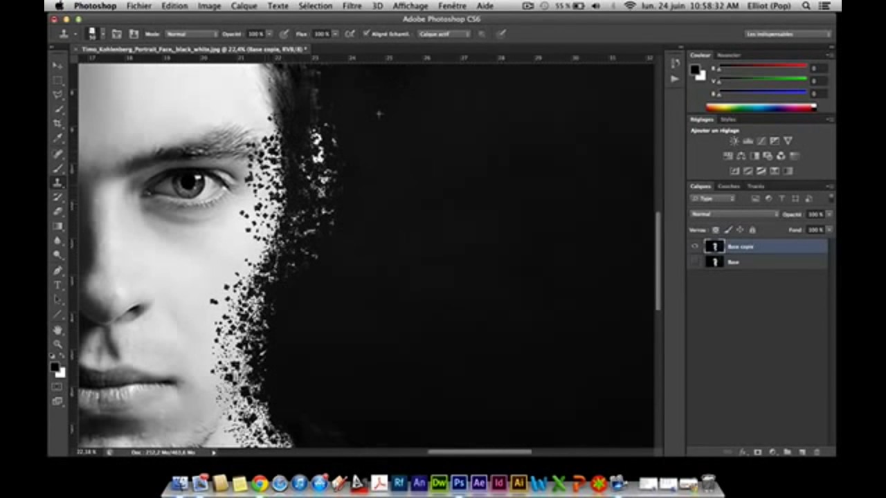 Photoshop tutorial - how to use photoshop cs6 / cc for ...