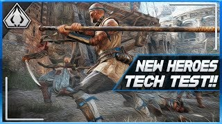[For Honor] New Heroes Tech Test Announced!! Coming SOON!! + Next Week's Patch Notes Info