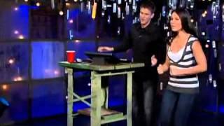 Olivia Munn - Swallows A Hot Dog