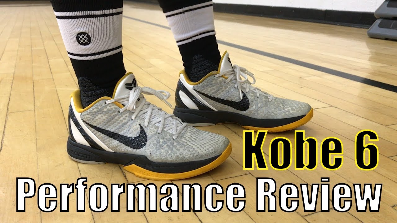 87e4e40645e THROWBACK  Nike Zoom Kobe 6 Performance Review - YouTube