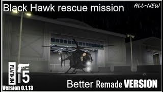 Roblox | Black hawk rescue mission REMADE better version | Training soldiers