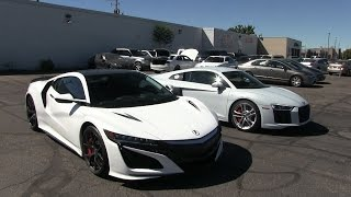 Is the Acura NSX better than the Audi R8 V10?