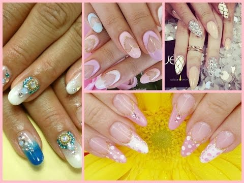 Top 30 Beautiful wedding  Nail Art Designs