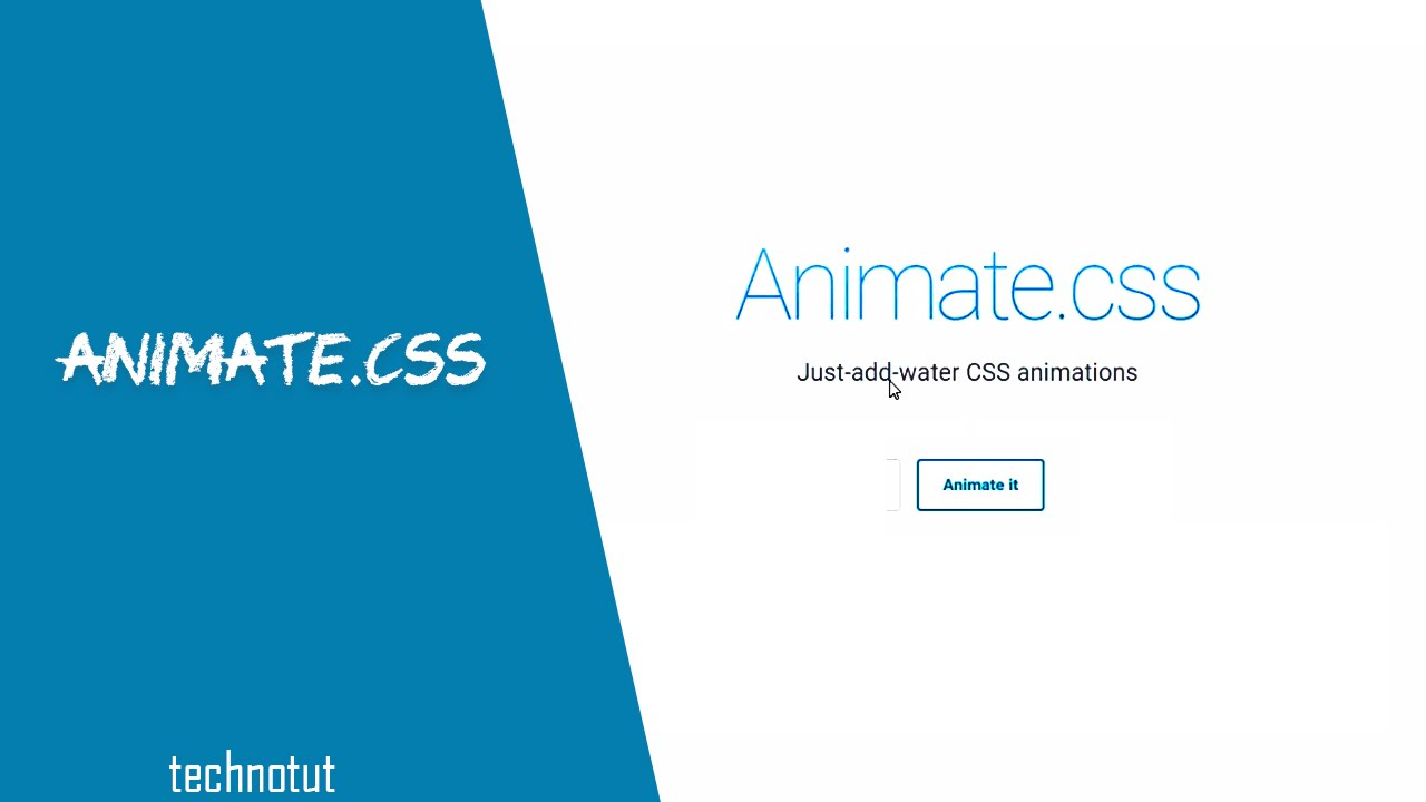 Download Animate CSS | How to create complex animation easy