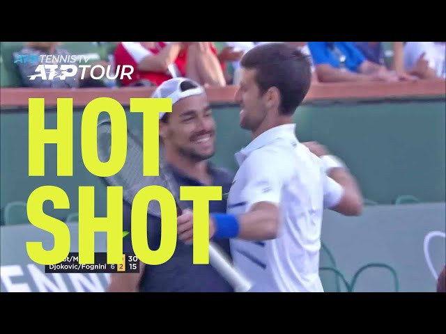 Hot Shot: Fognini's Around-The-Net Shot Of The Week Contender In Indian Wells 2019