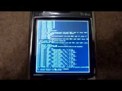 Booting Android on Treo 650