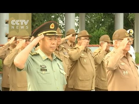 Top Chinese general's Cuba trip highlights military tiles between two sides