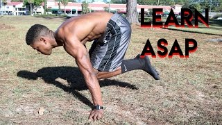 HOW TO: Tuck Planche Tutorial Training | Progressions | BEGINNER