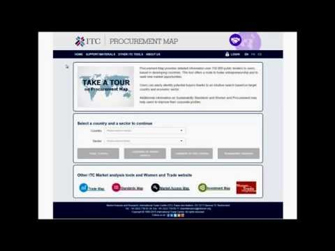 Introducing ITC Procurement Map