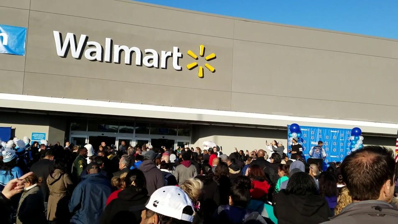 grand opening of walmart in compton