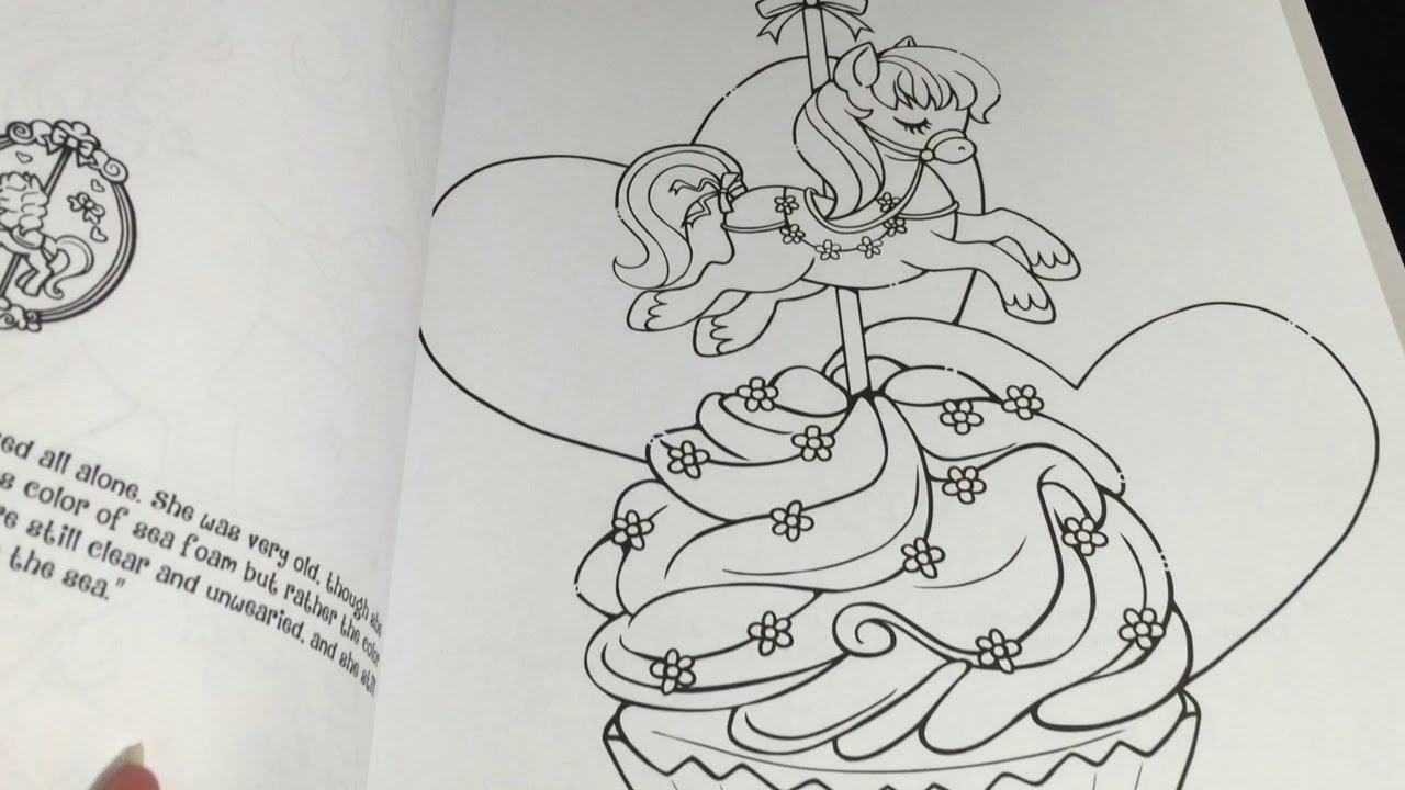 coloring time episode 18 carousel dreams cupcake pony speed