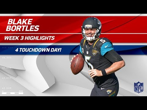 Blake Bortles Tosses 4 TDs in London! | Ravens vs. Jaguars | Wk 3 Player Highlights