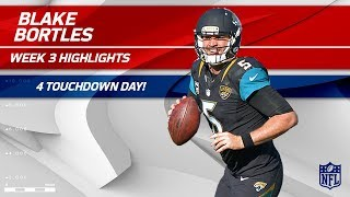 Blake Bortles Tosses 4 TDs in London! | Ravens vs. Jaguars | Wk 3 Player Highlights
