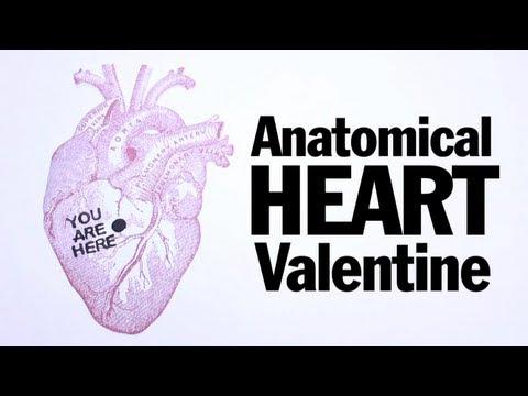 Anatomical Heart Valentines, ThreadBanger How To