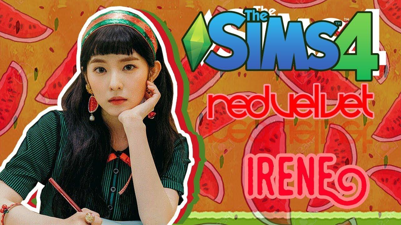 801cbe044ac The Sims 4] Create A Sim   #9 Irene Red Velvet - Red Flavor❤ - YouTube
