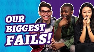 OUR BIGGEST FAILS! (The Show w/ No Name)