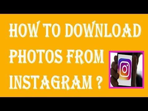 How To Download Photos From Instagram | How To Save Photos From Instagram