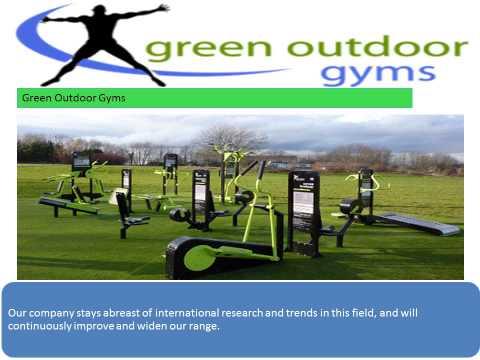 Green Outdoor Gym