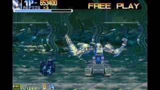 (1/4) パワードギア: Strategic Variant Armor Equipmen (JP Arcade) - Walkthrough