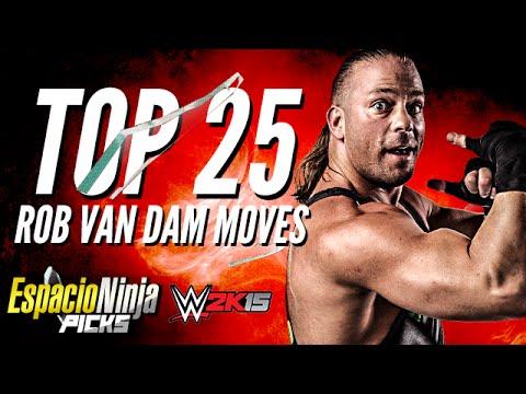 Rob Van Dam Top 25 Moves | EspacioNinja Picks!