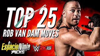 Rob Van Dam Top 25 Moves | EspacioNinja Picks!