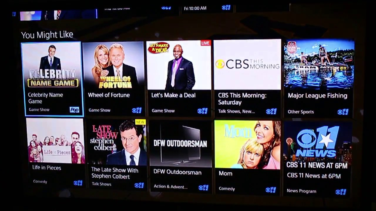 First Look: PlayStation Vue's New Guide