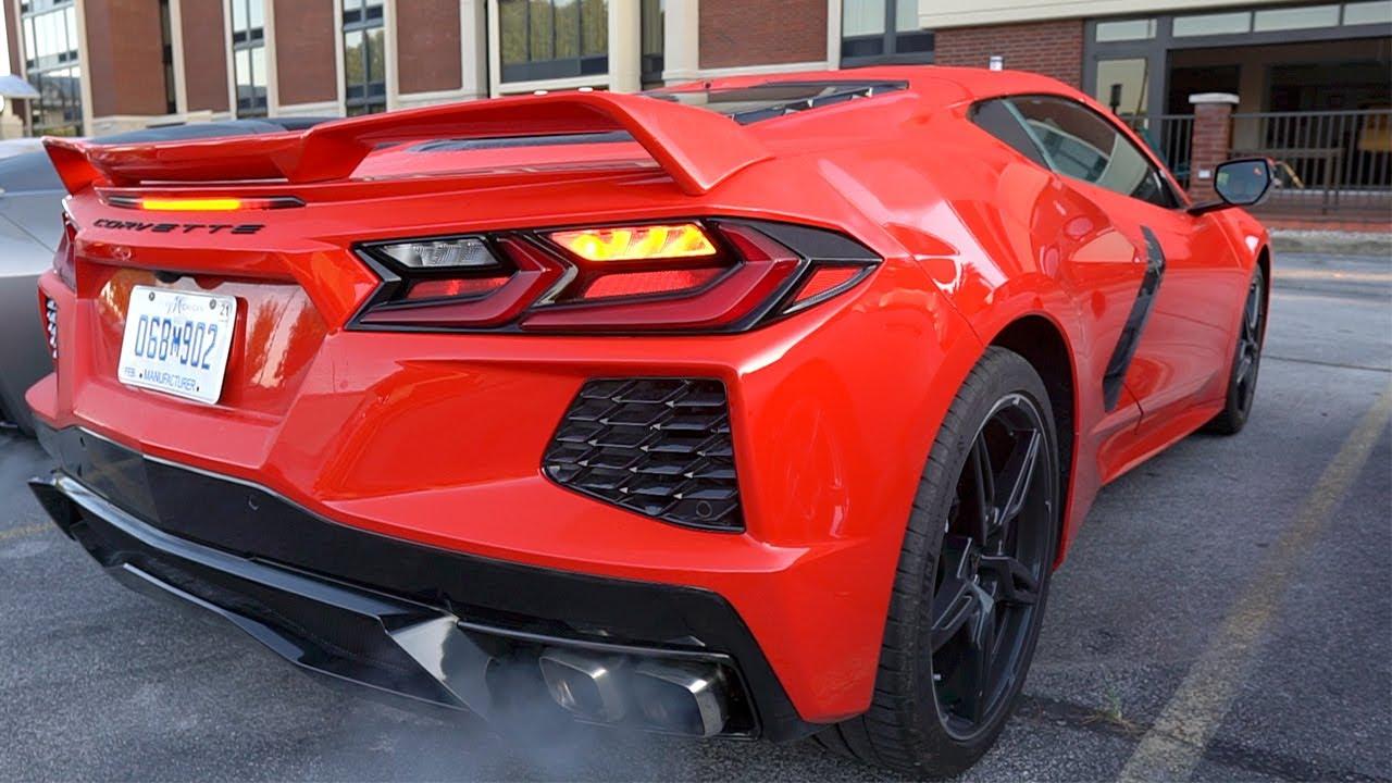 2020 c8 corvette exhaust compilation pure sound