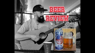 Pabst APA Beer Review and Guitar Cover I love this Bar Toby Keith