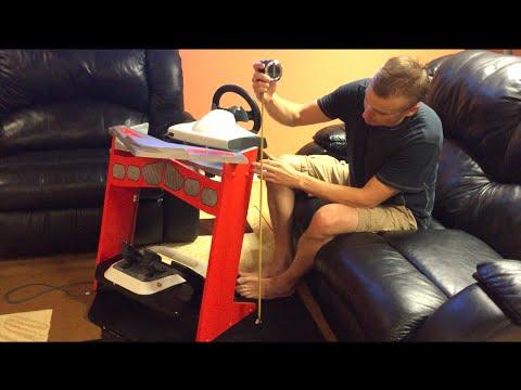 Стойка для Игрового Руля Своими Руками. DYI Steering Wheel Stand Homemade.