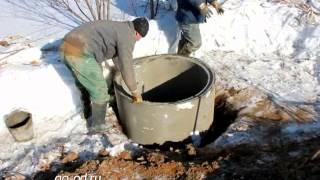 Копка колодца(Копка колодца в Ленинградской области., 2013-03-23T15:45:29.000Z)