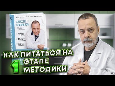 Диетолог Алексей Ковальков о своей методике и ее этапах