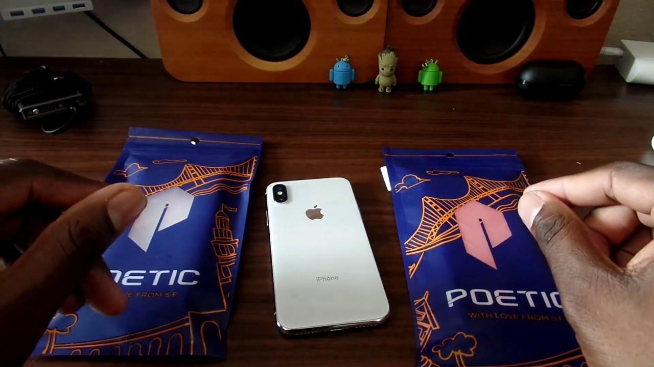 coque poetic iphone x