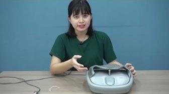 Giới thiệu Leravan LF-ZJ007-MGY - đôi dép thần kỳ biết massage chân