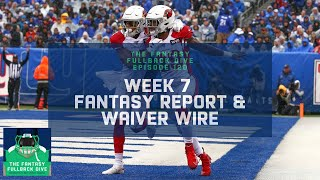 Week 7 Fantasy Football Recap: Risers, Fallers, Early Waiver Wire and Injuries