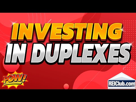 Duplex Investment - Pros and Cons to Duplex Investments - REIClub.com