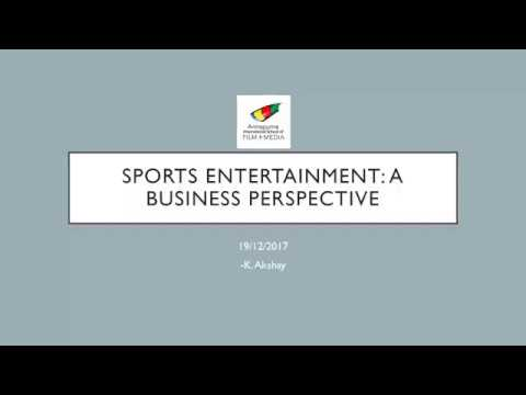 Sports Entertainment: A Business Perspective