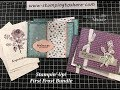 Stampin' Up! First Frost Bundle - Three Card Style