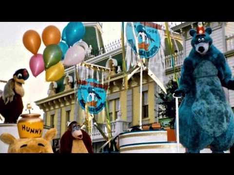 "1984 ""Donald Duck 50th Birthday Parade"" at Disneyland"
