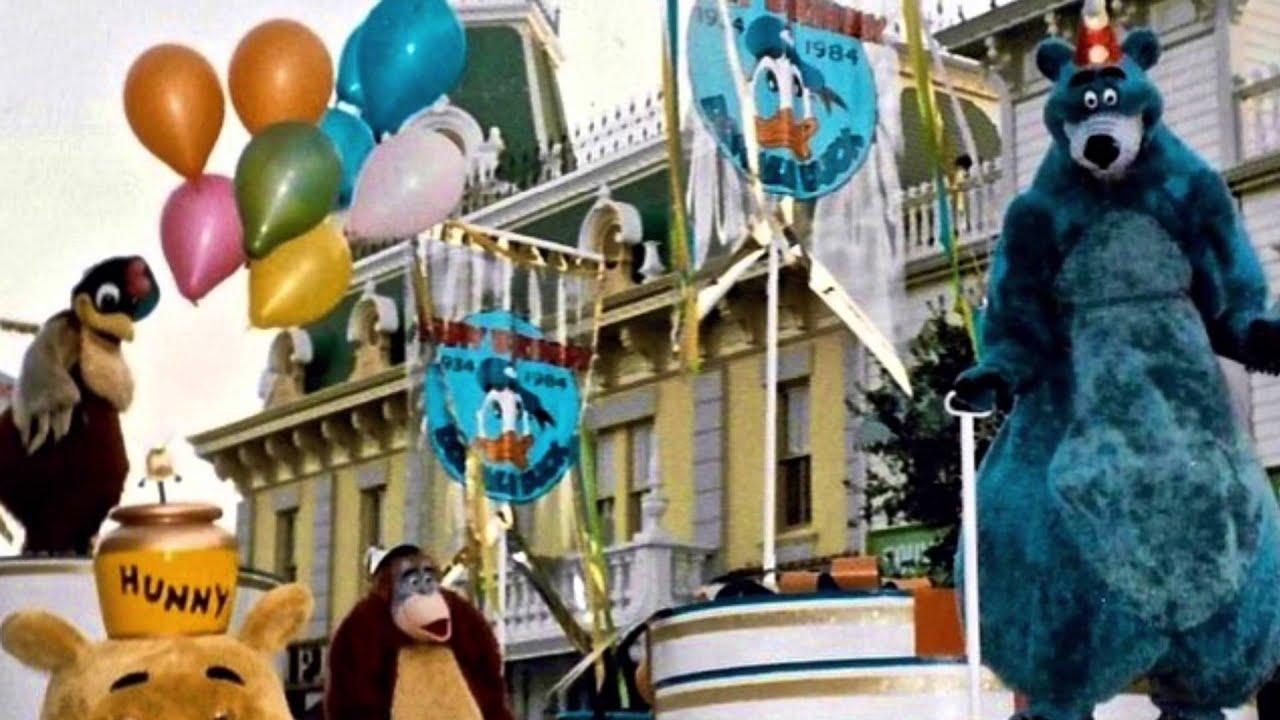 1984 Quot Donald Duck 50th Birthday Parade Quot At Disneyland