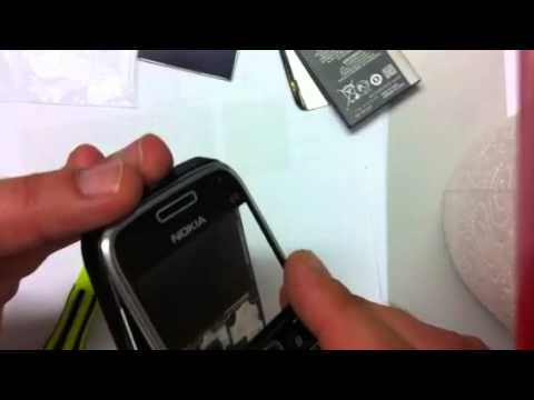 Nokia E72 Dislay austausch! +++ Nokia E72 Display / Screen replace - Switch