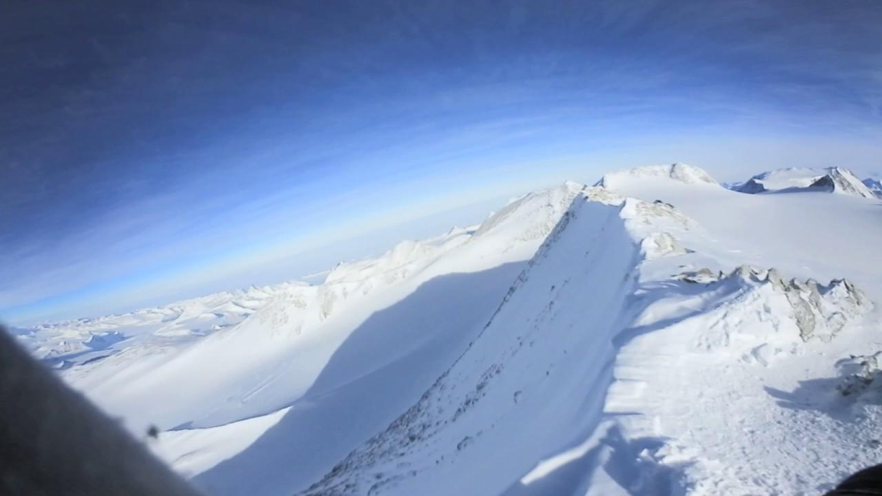 南極ビンソンマシフ山頂 360度動...