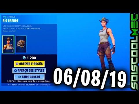 boutique-fortnite-6-aoÛt-2019,-nouveau-skins,-item-shop-august-6,-2019