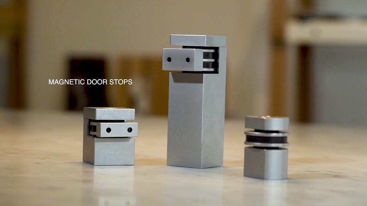 Halliday Baillie Door Stops Wall Magnetic Floor Stops Youtube