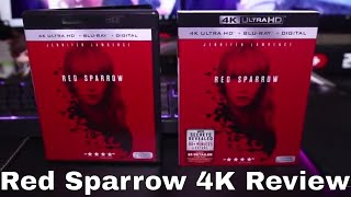 Red Sparrow 4K Blu-Ray Review