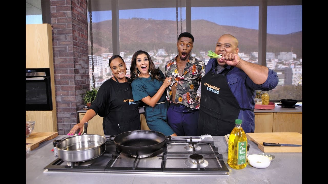 Download Cook-Along with Fezile Mkhize | Afternoon Express | 12 February 2019