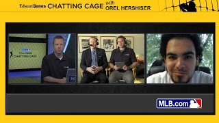 Chatting Cage: Hershiser answers fans' questions(Dodgers broadcaster Orel Hershiser fields questions from fans on the Chatting Cage Check out http://m.mlb.com/video for our full archive of videos, and ..., 2015-04-06T21:03:16.000Z)