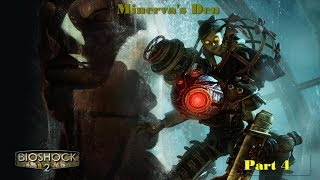 BioShock 2 Remastered 4K 60FPS - Minerva's Den: Part 4 (No Commentary)