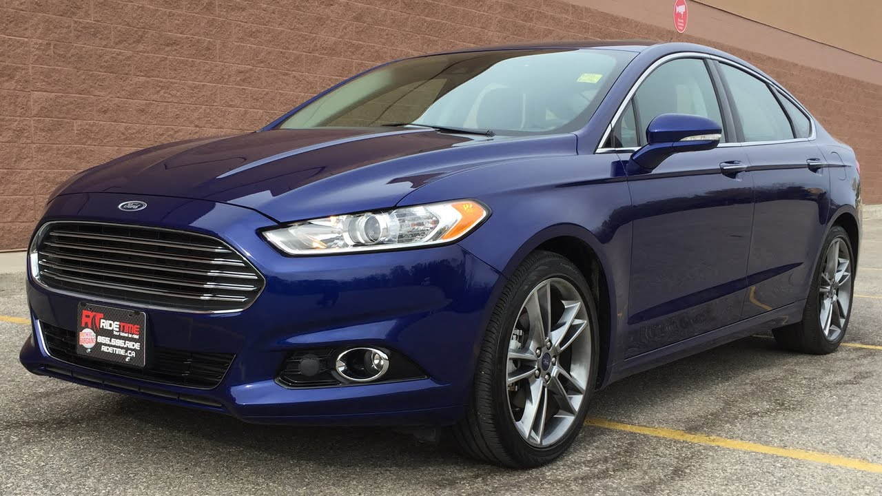2014 ford fusion titanium awd leather nav sunroof 19in alloy wheels drivers assist package. Black Bedroom Furniture Sets. Home Design Ideas