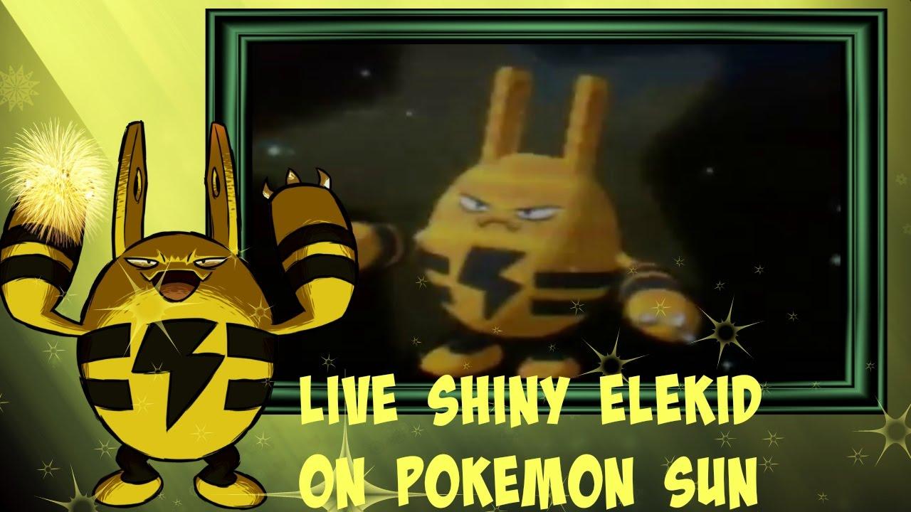how to get elekid in pokemon sun