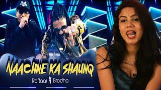 Raftaar x Brodha V Naachne Ka Shaunq | Reaction | Pooja Rathi | CuteBox